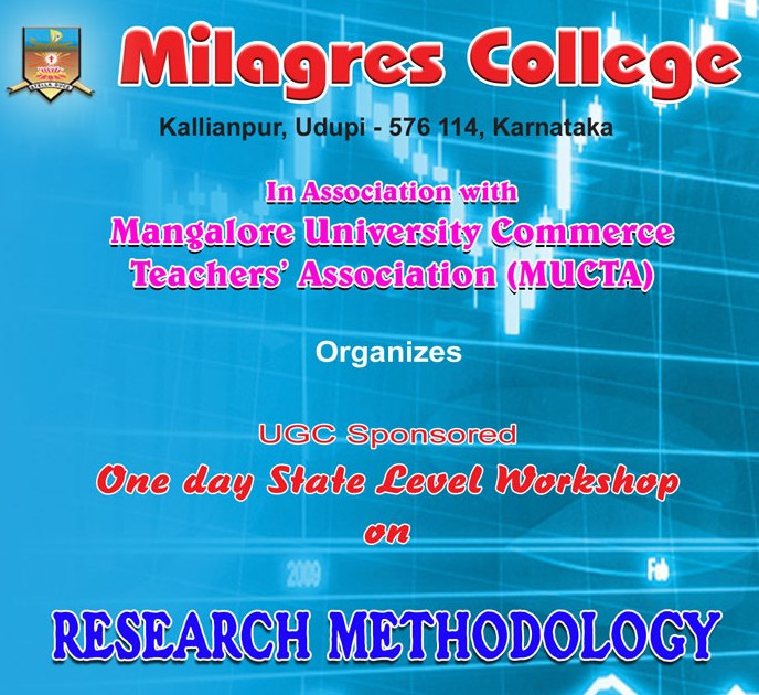 State Level Workshop on Research Methodology at Milagres College, Kallianpur