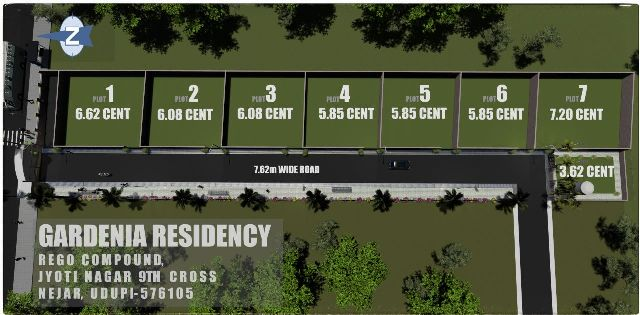 HOUSE SITES FOR SALE AT GARDENIA RESIDENCY, REGO COMPOUND, NEAR ASHWATHAKATTE, NEJAR