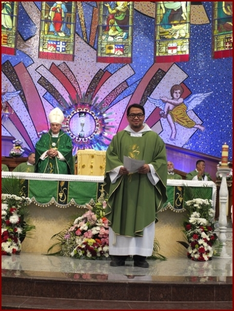 Photo Album: Fr Rally Gonzaga new Parish Priest installation of Our Lady of the Rosary church Qatar