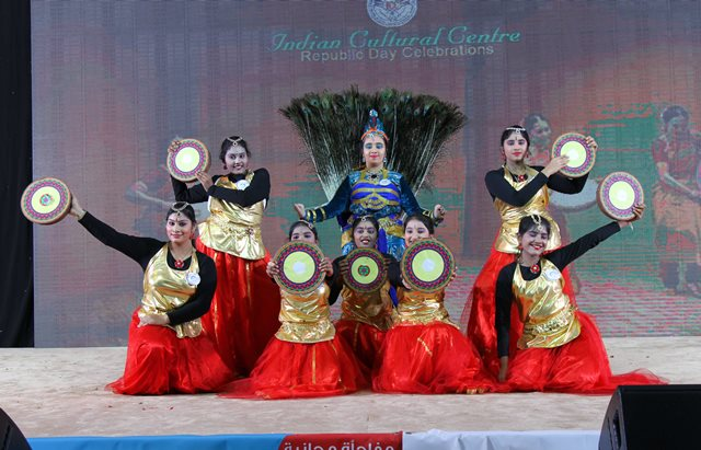 Photo Album Doha Indian Cultural Centre held a Cultural Extravaganza Indian Republic Day