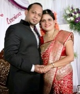Congratulations To Sandesh Rohan & Lavina <P><center>[Comments]</center>