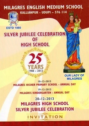 Kemmannucom Invitation for the Silver Jubilee celebrations of